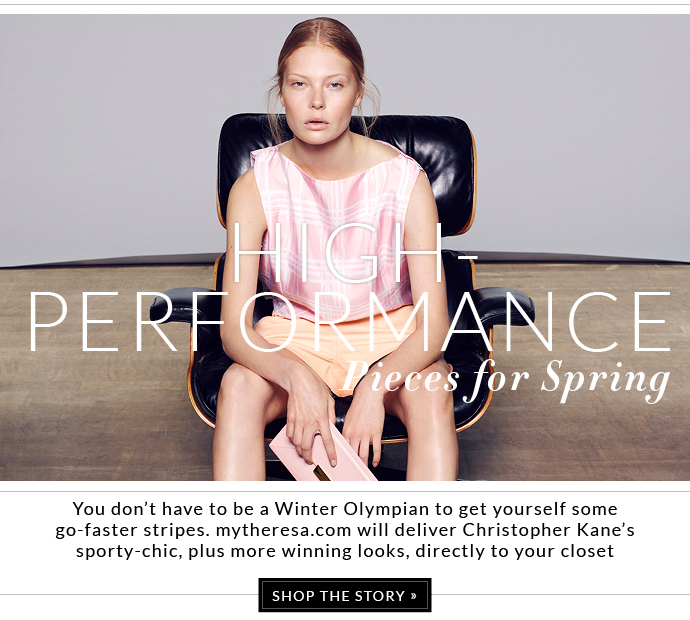 HIGH PERFORMANCE PIECES FOR SPRING