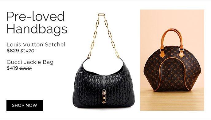 Pre-loved Handbags. Shop Now