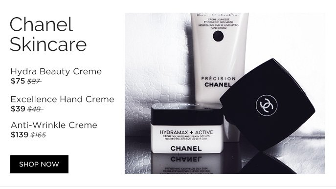 Chanel Skincare. Shop Now