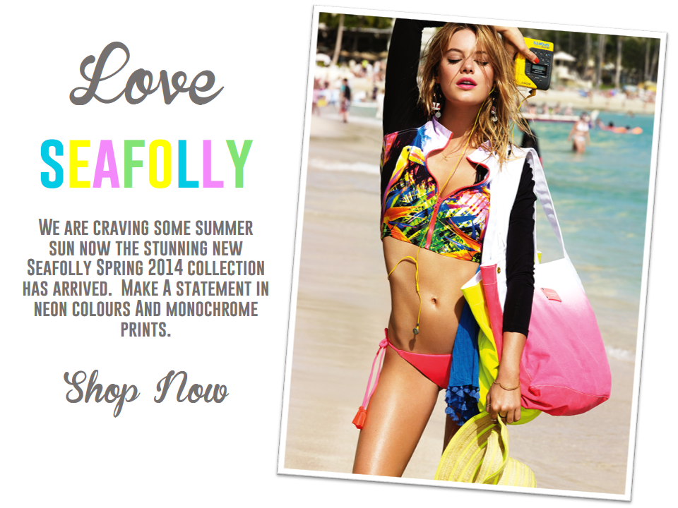 Make a statement with the new SEAFOLLY Spring 2014 Collection.