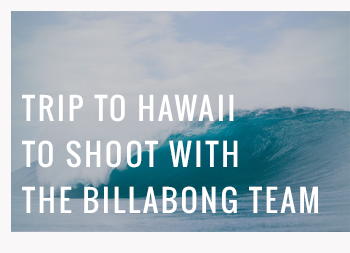 Trip includes roundtrip airfare for 2, 4 nights accommodation, $400 spending and a Billabong Prize Pack (airfare from US City to Honolulu only)