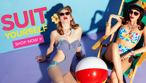 Suit Yourself! Shop Now