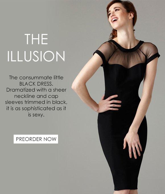 The Illusion: THE dress to own this season!