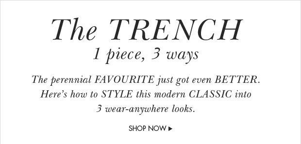 Download Images: Shop the trench with up to 50% off plus free shipping & returns.