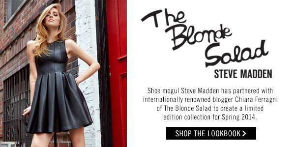 The Blonde Salad and Steve Madden Limited Edition Collection