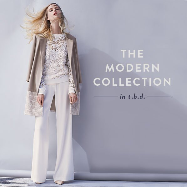 THE MODERN COLLECTION - in t.b.d.