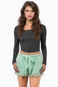 True Harmony Lace Shorts 37