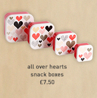 all over hearts snack boxes