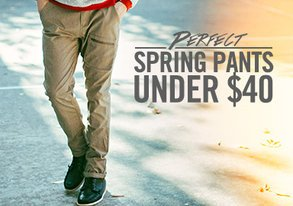 Shop Perfect Spring Pants ALL Under $40