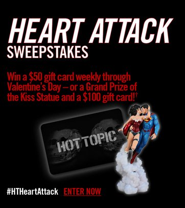 HEART ATTACK SWEEPSTAKES