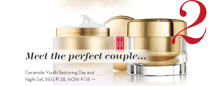 2. Meet the perfect couple... Ceramide Youth Restoring Day and Night Set, REG $138, NOW $118.