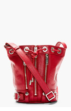 SAINT LAURENT Red Rider Small Bucket Bag for women