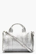 ALEXANDER WANG Silver Rocco Handbag for women