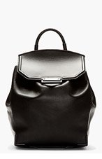 ALEXANDER WANG Black Matte Prisma Backpack for women