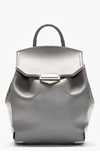 ALEXANDER WANG Grey Prisma Backpack for women