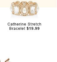Catherine Stretch Bracelet.