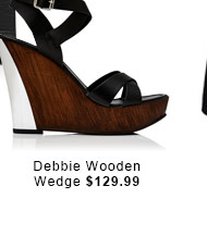 Debbie Wooden Wedge