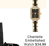 Chantelle Embellished Watch