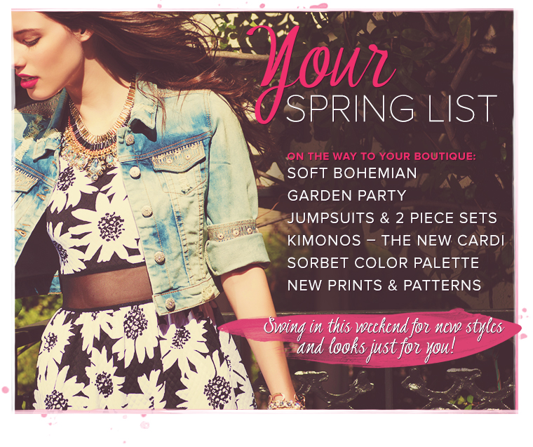 Your Spring List