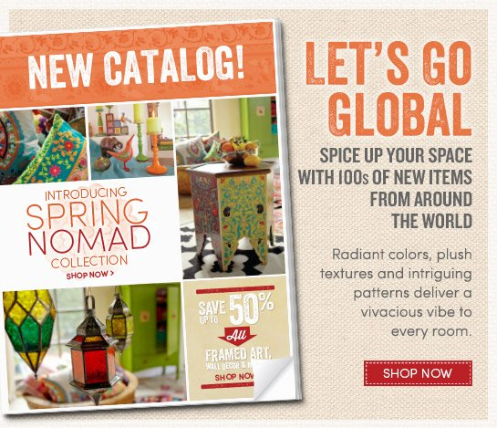 Introducing our Spring Nomad Catalog