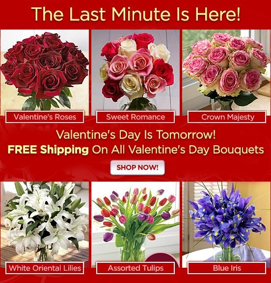 Sweetheart of a Deal - Get a FREE VASE with Valentine's Favorites!