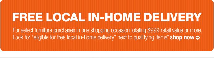 free local in-home delivery