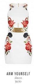 ARM YOURSELF dress - $650
