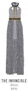THE INVINCIBLE dress - $590