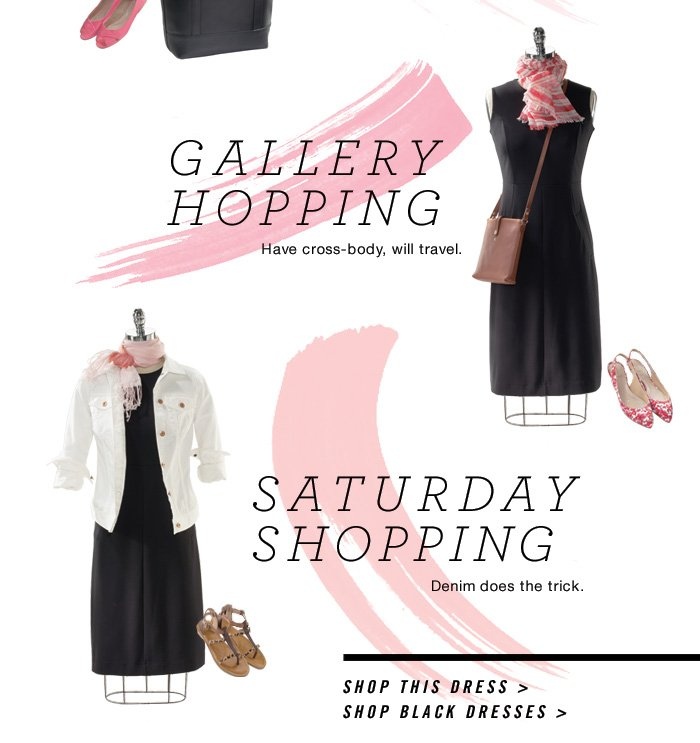Gallery Hopping and Saturday Shopping