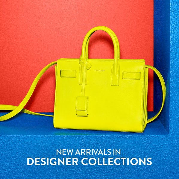 NEW ARRIVALS IN DESIGNER COLLECTIONS