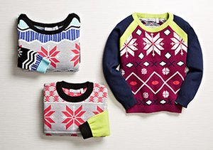 Color & Pattern: Kids' Sweaters