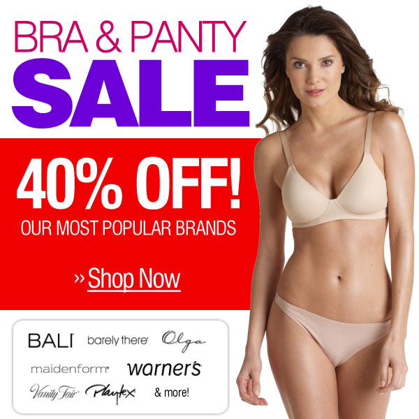 Bra & Panty Sale - Save Big -- Shop Now