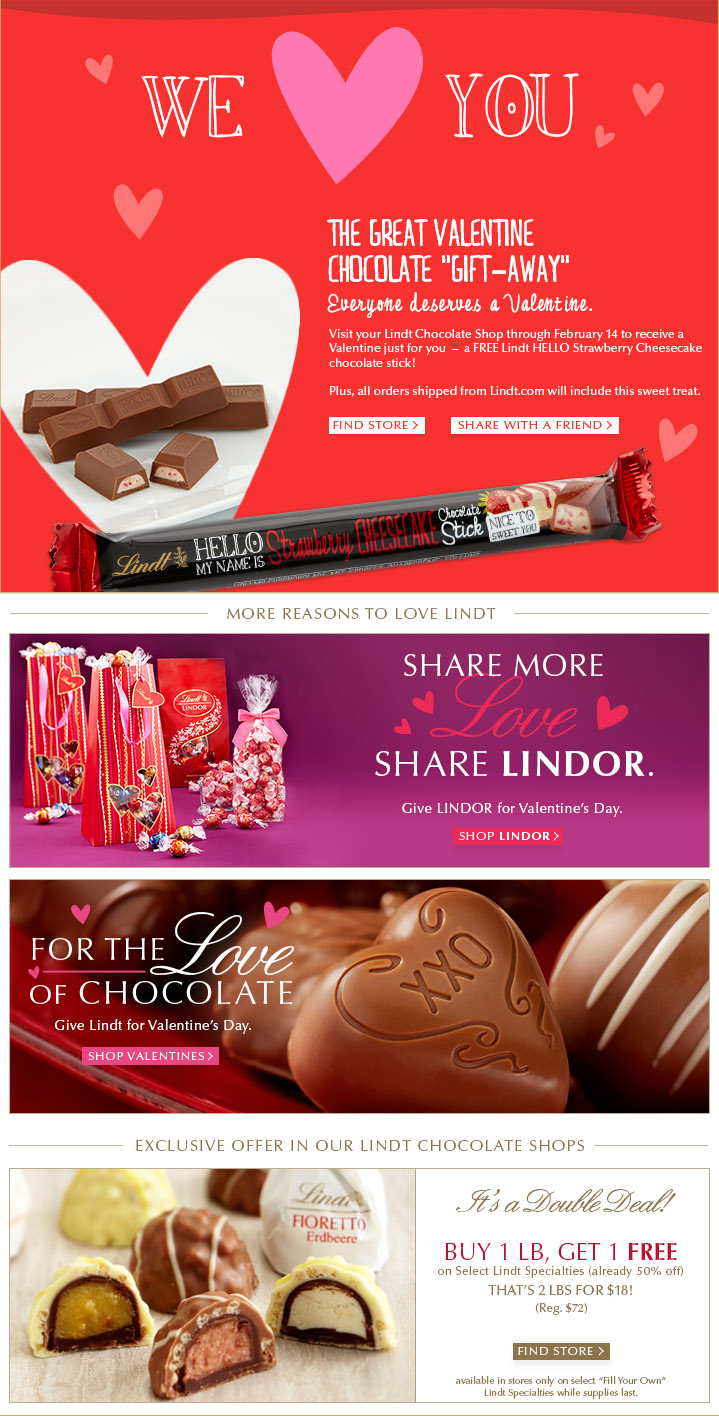 Shop Valentines