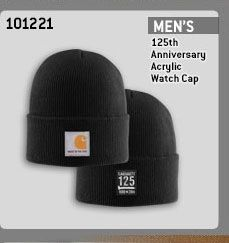 125TH ANNIVERSARY ACRYLIC WATCH CAP