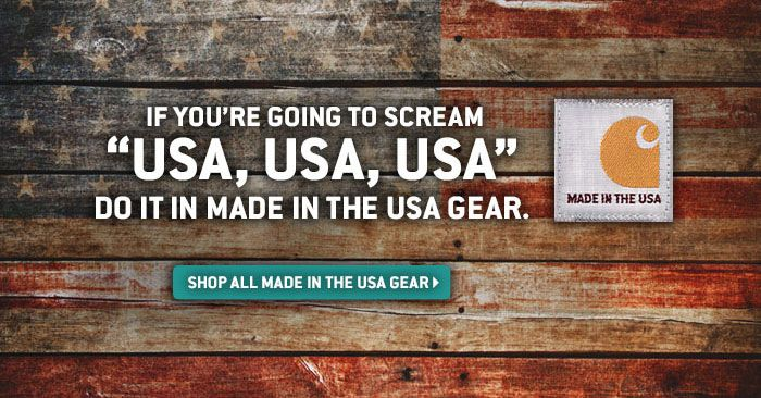 SHOP ALL MADE IN THE USA GEAR