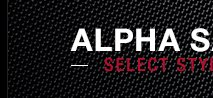 Alpha Sale - Select Styles 25% Off