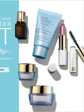 ONLINE EXCLUSIVE ESTÉE LAUDER xx LILLY PULITZER Free with any $45 purchase.*Worth up to $145 CHOOSE YOUR SKINCARE »