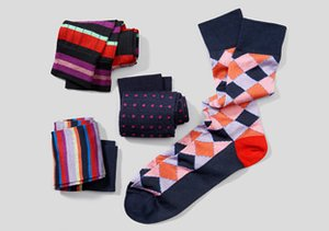 J.M. Dickens of London Socks