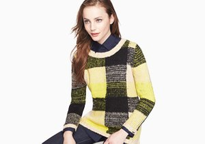 Cool Contrast: Colorblock Tops & More