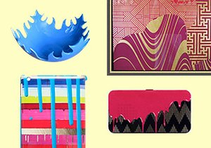 Color Surge: Art, Accessories & More
