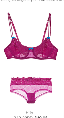 Effy lingerie set