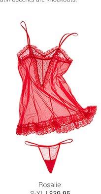 Rosalie lingerie set