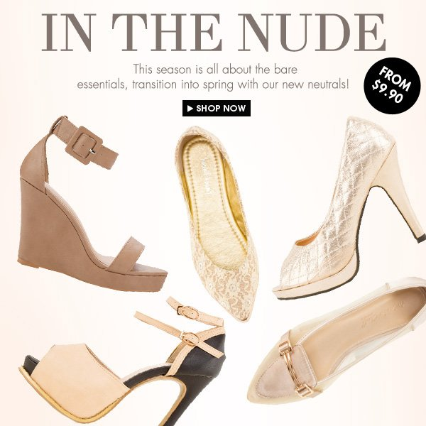 In the Nude - From 9.90SGD