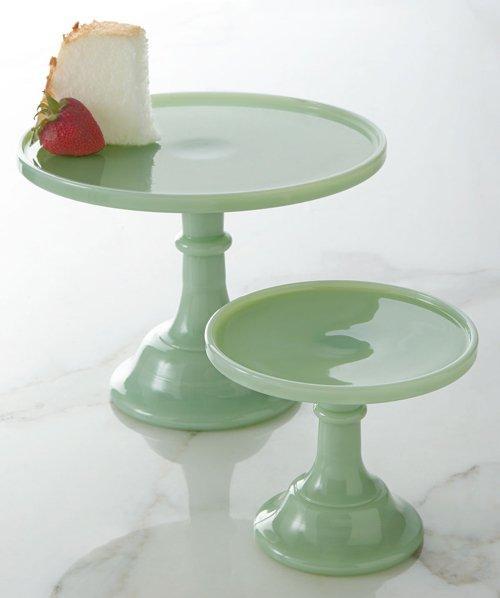 Jadeite Cake Plates