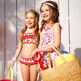 Spring Break Escape: Kids' Swimwear