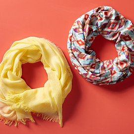 Wrapped in Spring: Scarves