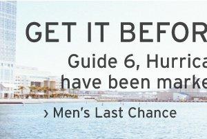 Men's Last Chance