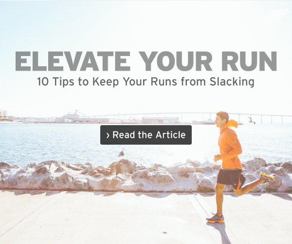 ELEVATE YOUR RUN | Read the Article