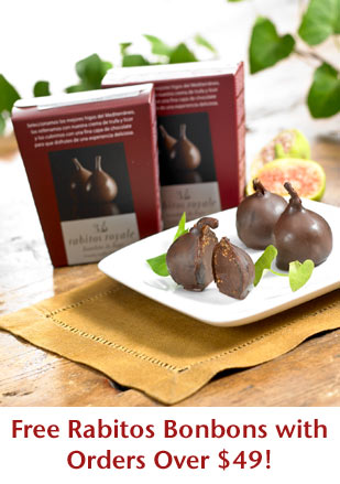 Free Rabitos Bonbons with Orders Over $49!