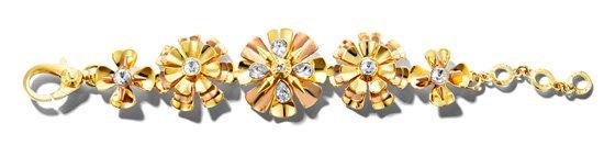 Delicate Flower Flex Bracelet